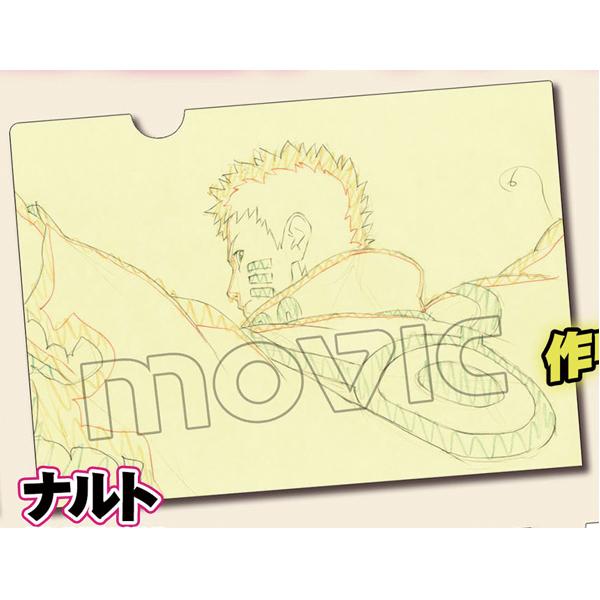 ムービック新着!BORUTO -NARUTO THE MOVIE- 原画クリアファイル ナルト 予約開始! グッズ新作速報