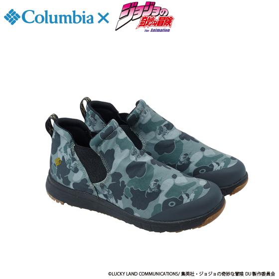 新着!【プレミアムバンダイ】ジョジョの奇妙な冒険×Columbia コラボ YU3882 Spinreel(TM)Mini Boot Special JOJO Surplus Green グッズ新作情報