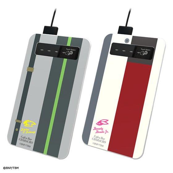予約開始!キャラクロ feat. 劇場版 TIGER & BUNNY -The Rising- モバイル充電器<PB限定特典:シュテルンビルト入国チケット付> グッズ新作速報 #タイバニ #tigerbunny
