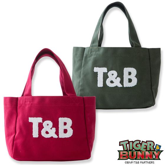 新着!【プレバン】TIGER & BUNNY×kitson コラボトートバッグ(小)『T&B』 ※オリジナルバンダナ付き グッズ新作情報