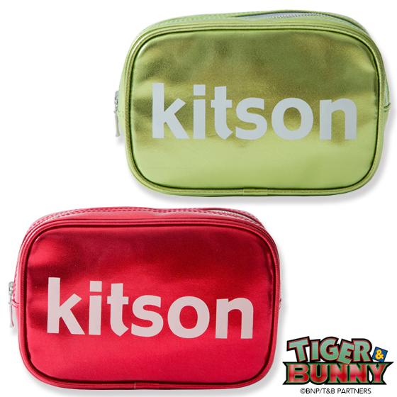 新着!【プレバン】TIGER & BUNNY×kitson コラボポーチ グッズ新作情報