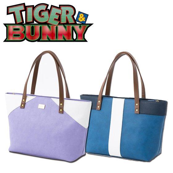 新着!【プレバン】TIGER & BUNNY トートバッグ グッズ新作情報