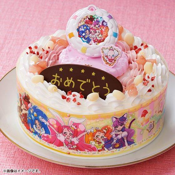 新着!【プレバン】キャラデコお祝いケーキ キラキラ☆プリキュアアラモード(5号サイズ) グッズ新作情報