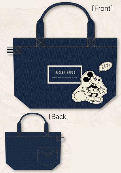 あみあみ新着!デニムコレクション ディズニー DN ミニトートバッグ〈ミッキーマウス〉 グッズ新作情報