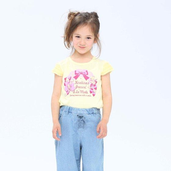 プレミアムバンダイ新着!キラキラ☆プリキュアアラモード デザインTシャツA グッズ新作情報
