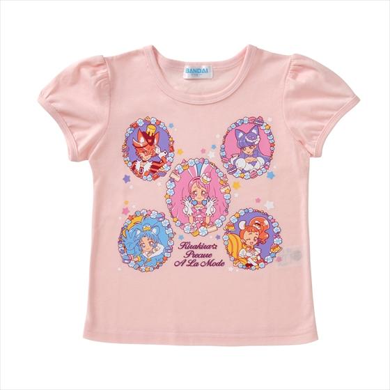 プレミアムバンダイ新着!キラキラ☆プリキュアアラモード TシャツセレクションA グッズ新作情報