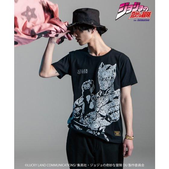 ジョジョの奇妙な冒険【GLAMB】Tシャツ キラークイーン グッズ新作情報
