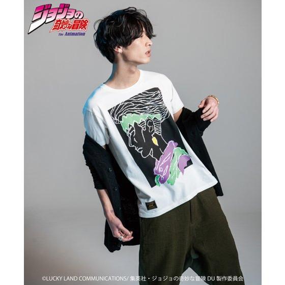 ジョジョの奇妙な冒険【GLAMB】Tシャツ 露伴 グッズ新作情報