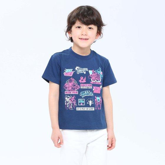 プレミアムバンダイ新着!仮面ライダーエグゼイド Tシャツセレクションロゴアレンジ グッズ新作情報