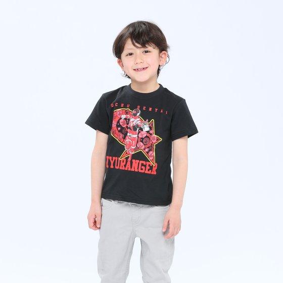 プレミアムバンダイ新着!宇宙戦隊キュウレンジャー TシャツセレクションロゴアレンジA グッズ新作情報