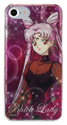 美少女戦士セーラームーン iPhone 7対応 キャラクタージャケット ブラック・レディ (SLM-63B) グッズ新作情報