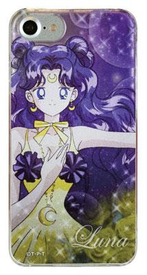 美少女戦士セーラームーン iPhone 7対応 キャラクタージャケット ルナ(かぐや姫の恋人ver.) (SLM-63C) グッズ新作情報