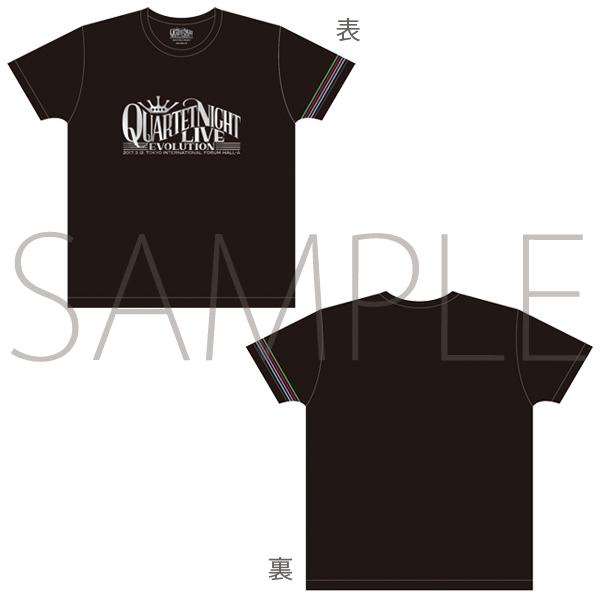 ムービック新着!うたの☆プリンスさまっ♪QUARTET NIGHT LIVEエボリューション2017 Tシャツ 新作グッズ予約情報