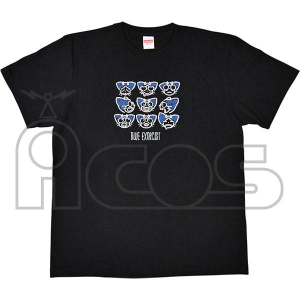 ムービック新着!青の祓魔師 京都不浄王篇 クロの百面相Tシャツ 新作グッズ情報
