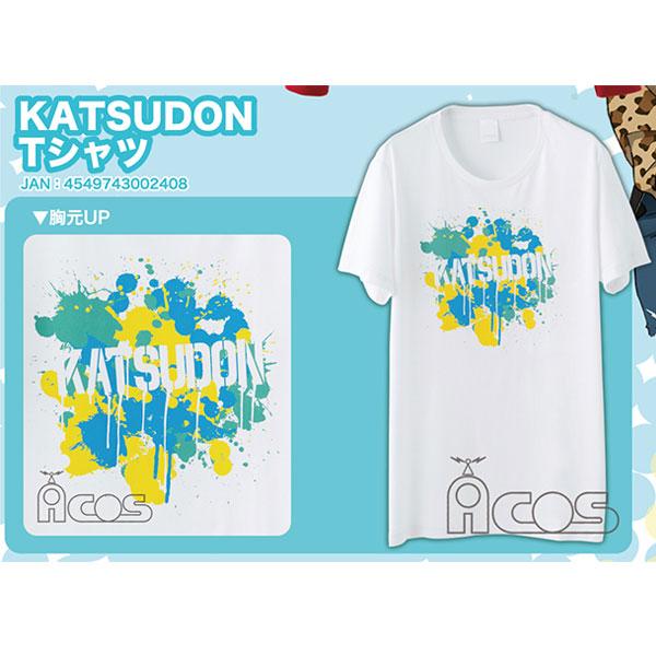 ムービック新着!ユーリ!!! on ICE KATSUDON Tシャツ