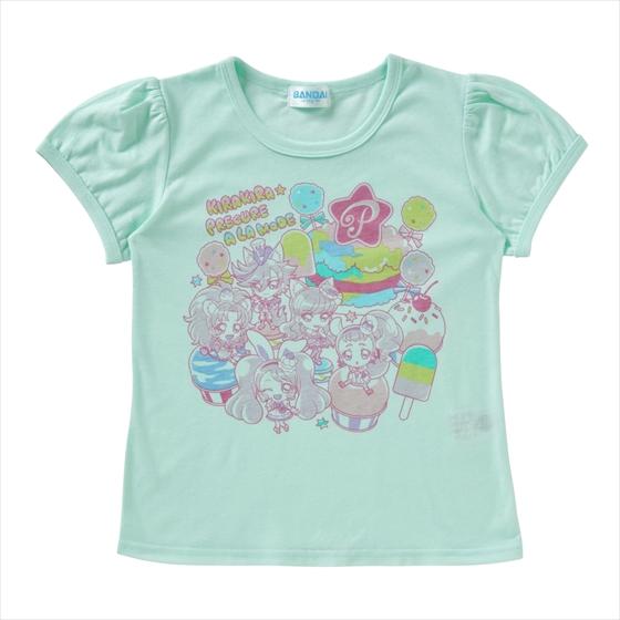 プレミアムバンダイ新着!キラキラ☆プリキュアアラモード Tシャツセレクション ゆめかわいいA 新作グッズ情報