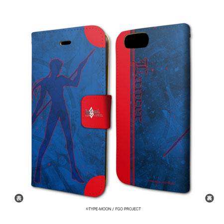 あみあみ新着!手帳型スマホケース(iPhone7専用)「Fate/Grand Order」34/ランサー/クー・フーリン グッズ新作速報