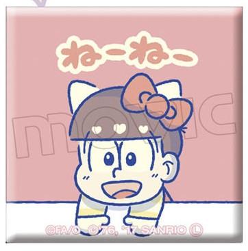 アニメイト新着!おそ松さん×Sanrio Characters キャラバッジコレクション/B他 予約開始グッズまとめ|グッズ新作速報