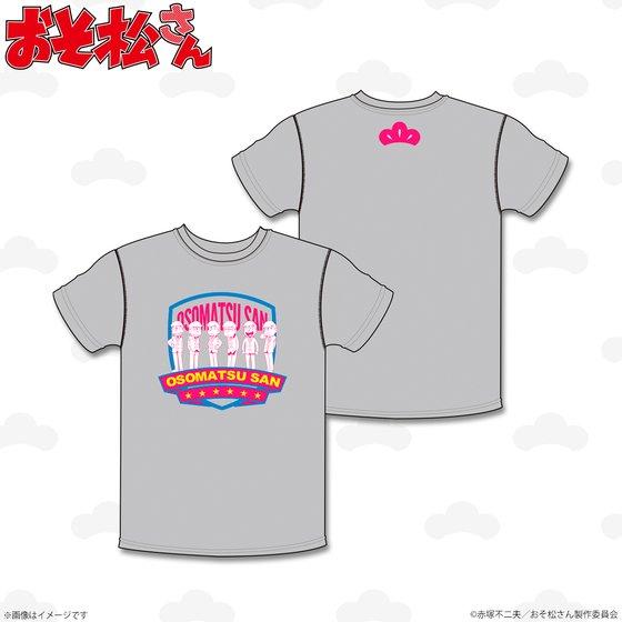 プレミアムバンダイ新着!##おそ松さん Tシャツ 6つ子松柄 新作グッズ予約速報