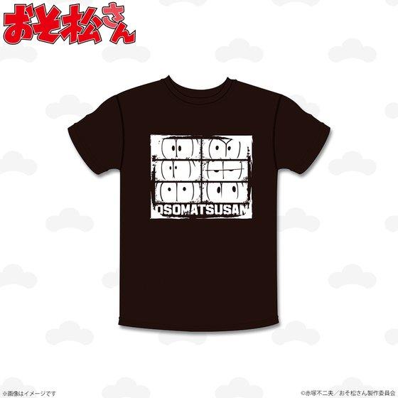 プレミアムバンダイ新着!##おそ松さん Tシャツ フェイス柄 グッズ新作速報