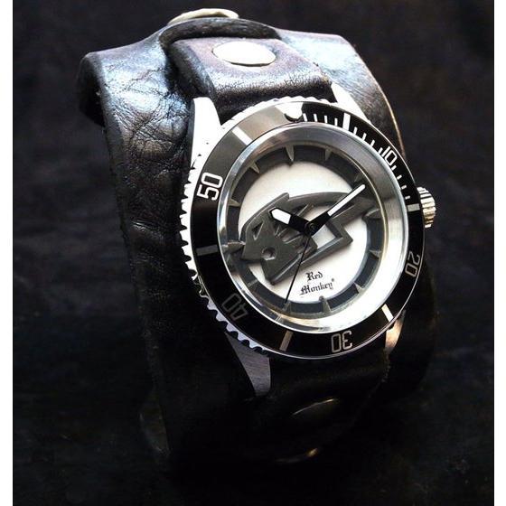 プレミアムバンダイ新着!TIGER & BUNNY  x Red Monkey Collaboration Wristwatch 虎徹モデル