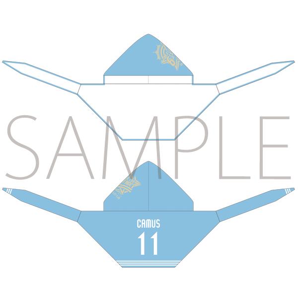 ムービック新着!うたの☆プリンスさまっ♪ マジLOVELIVE 6th STAGE フード付きタオル カミュ