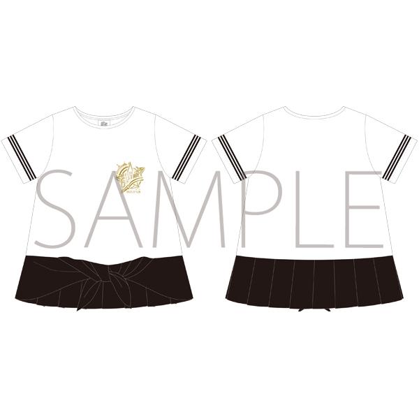 ムービック新着!うたの☆プリンスさまっ♪ マジLOVELIVE 6th STAGE Tシャツ WHITE/LADEIS S 【受注生産】 新作グッズ情報