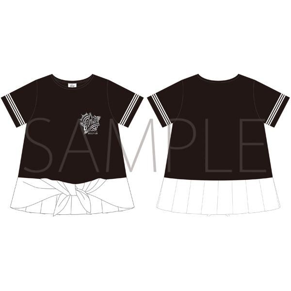 ムービック新着!うたの☆プリンスさまっ♪ マジLOVELIVE 6th STAGE Tシャツ BLACK/LADEIS S 【受注生産】 新作グッズ予約情報