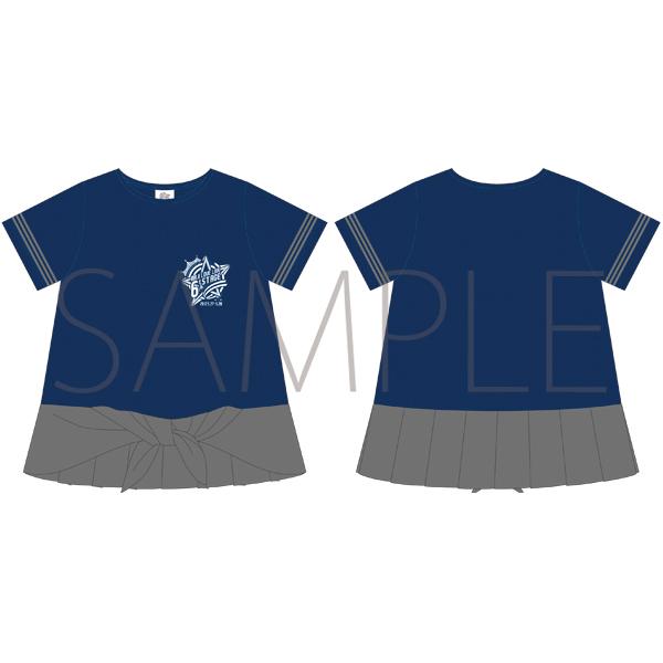ムービック新着!うたの☆プリンスさまっ♪ マジLOVELIVE 6th STAGE Tシャツ NAVY/LADEIS M 【受注生産】