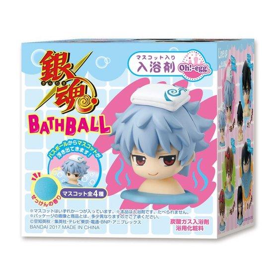 プレミアムバンダイ新着!Oh!-egg ##銀魂 BATH BALL