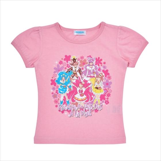 プレミアムバンダイ新着!キラキラ☆プリキュアアラモード Tシャツセレクション 新作グッズ情報