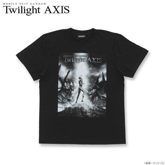 プレミアムバンダイ新着!機動戦士ガンダム Twilight AXIS キービジュアル Tシャツ