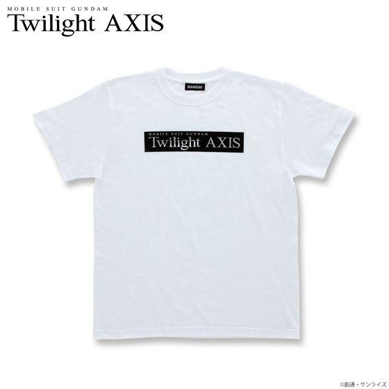 プレミアムバンダイ新着!機動戦士ガンダム Twilight AXIS ロゴ Tシャツ 新作グッズ情報