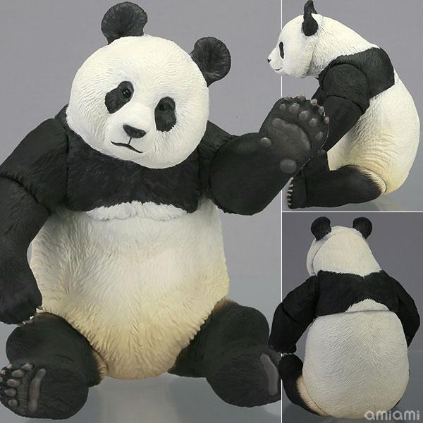 あみあみ新着!ソフビトイボックス 003 パンダ (ジャイアントパンダ) ソフビフィギュア 新作グッズ予約情報