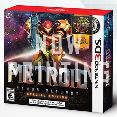 あみあみ新着!3DS メトロイド サムスリターンズ SPECIAL EDITION グッズ新着情報