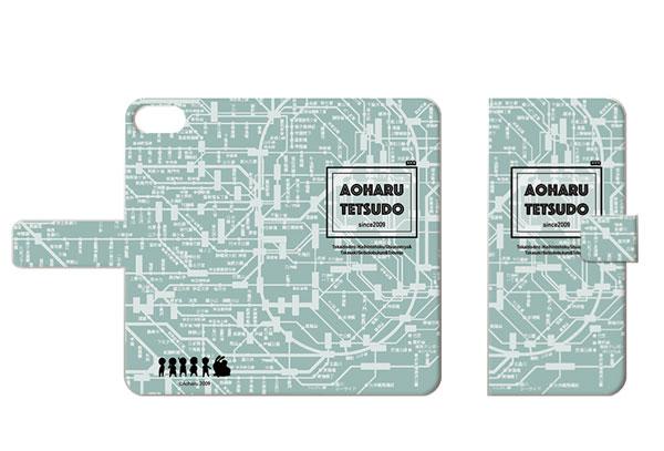 あみあみ新着!「青春鉄道」手帳型スマホケース B(iPhone6Plus/6sPlus/7Plus) 新作グッズ情報