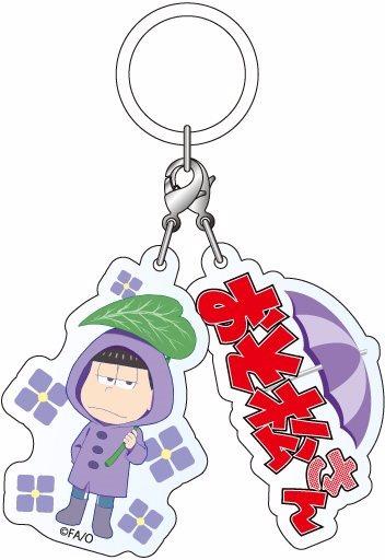 ホビーストック新着!  ##おそ松さん アンブレラサイン 一松 雨合羽松ver 新作グッズ情報