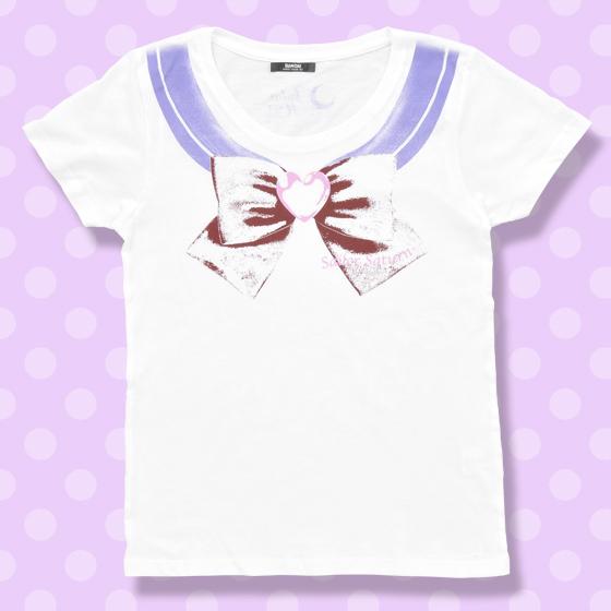 プレミアムバンダイ新着!#セラムン #セラムン 美少女戦士セーラームーン なりきりセーラーTシャツ(セーラーサターン柄)【8月お届け】