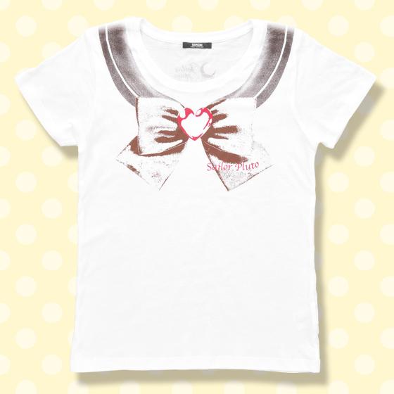 プレミアムバンダイ新着!#セラムン #セラムン 美少女戦士セーラームーン なりきりセーラーTシャツ(セーラープルート柄)【8月お届け】 グッズ新着情報
