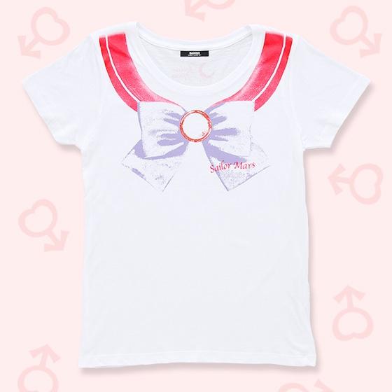 プレミアムバンダイ新着!#セラムン #セラムン 美少女戦士セーラームーン なりきりセーラーTシャツ(セーラーマーズ柄)【8月お届け】