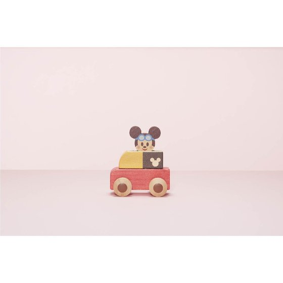 プレミアムバンダイ新着!Disney | KIDEA PUSH CAR <ミッキーマウス> 新作グッズ予約速報