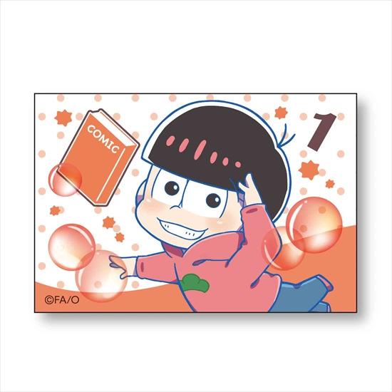 ホビーストック新着!  ##おそ松さん ぷかっしゅ BIGスクエア缶バッチ おそ松