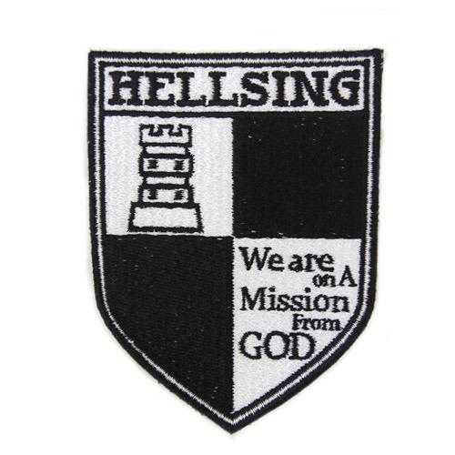 ホビーストック新着! HELLSING ヘルシング 脱着式ワッペン グッズ新作速報