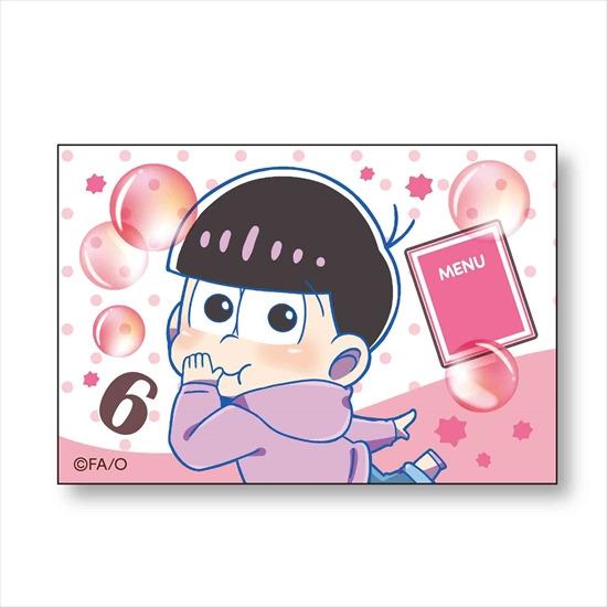 ホビーストック新着!  ##おそ松さん ぷかっしゅ BIGスクエア缶バッチ トド松