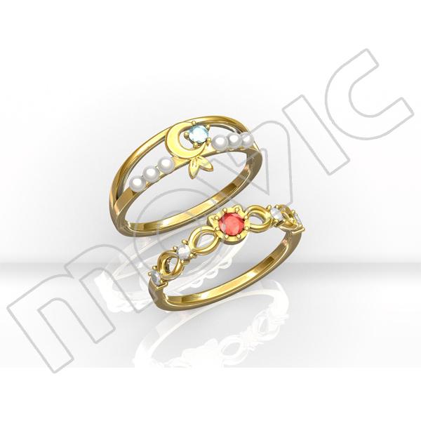 ムービック新着!【9号】新テニスの王子様 大石&菊丸指輪~Doubles Ring~【受注生産限定】 グッズ新作速報