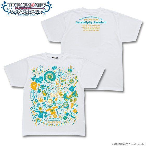 プレミアムバンダイ新着!アイドルマスター シンデレラガールズ  5thLIVE TOUR EXTRA Tシャツ 2nd