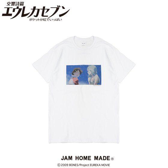 プレミアムバンダイ新着!劇場版交響詩篇エウレカセブン ポケットが虹でいっぱい×JAM HOME MADE Tシャツ 新作グッズ予約速報