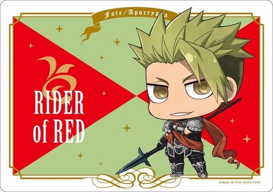 ホビーストック新着! Fate/Apocrypha マウスパッド 赤のライダー グッズ新着情報