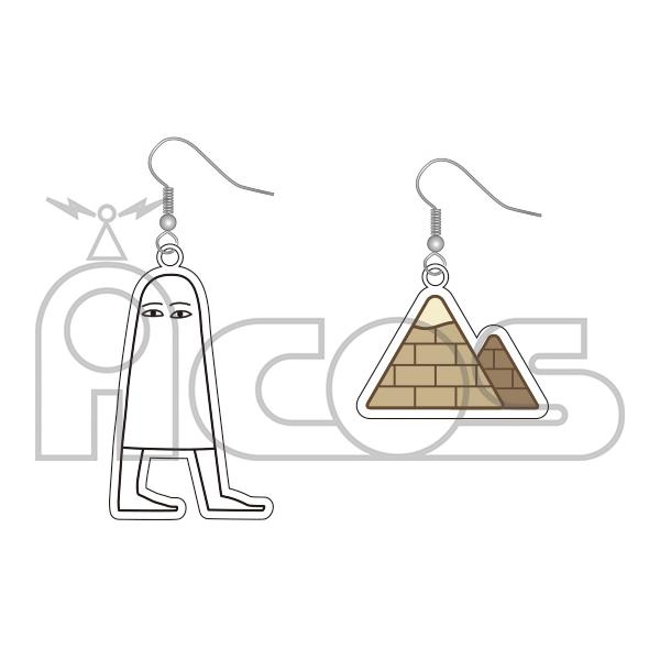 ムービック新着!メジェド様 アクリルピアス エジプトの神様メジェド 新作グッズ予約情報