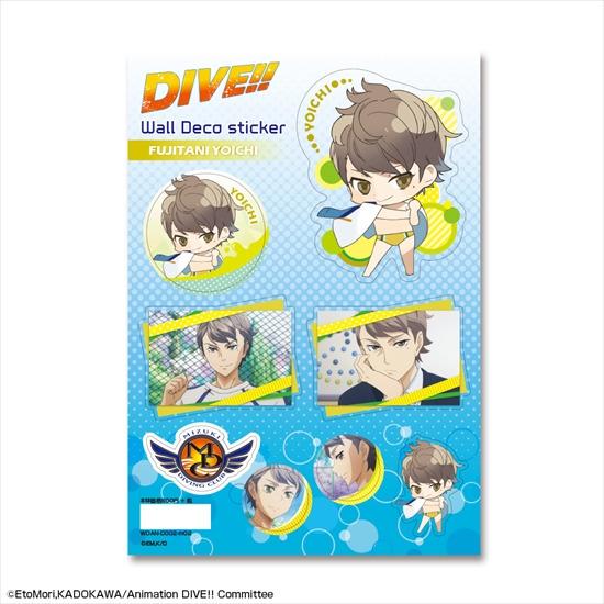 ホビーストック新着!  DIVE!! ウォールデコステッカー デザイン02 富士